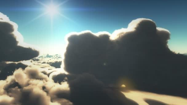 létat v oblacích 4k