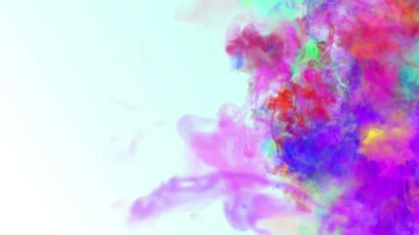 színes füst ink absztrakt