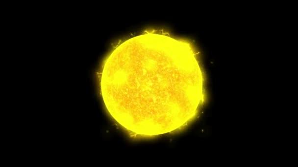 Heiße Sonne im All