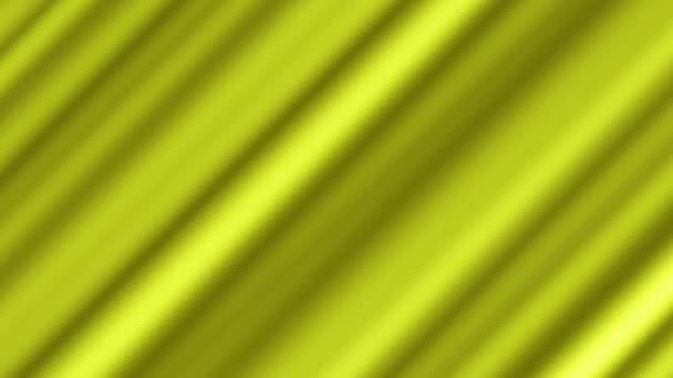 Zkroucené žluté abstraktní zvlněné pozadí 4k