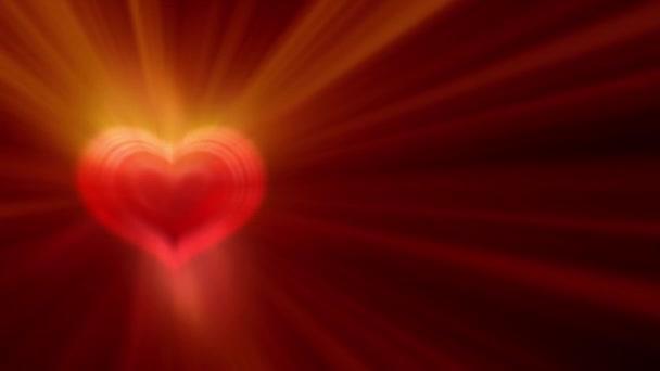 paprsek světla srdce