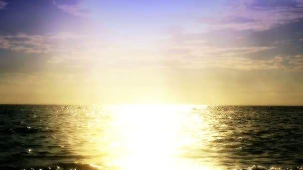 Sunset beach vlna Zpomalený pohyb