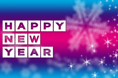 2015 New Year greeting banner background