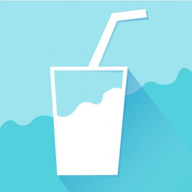 Drink Water icons set great for any use. Vector EPS10.