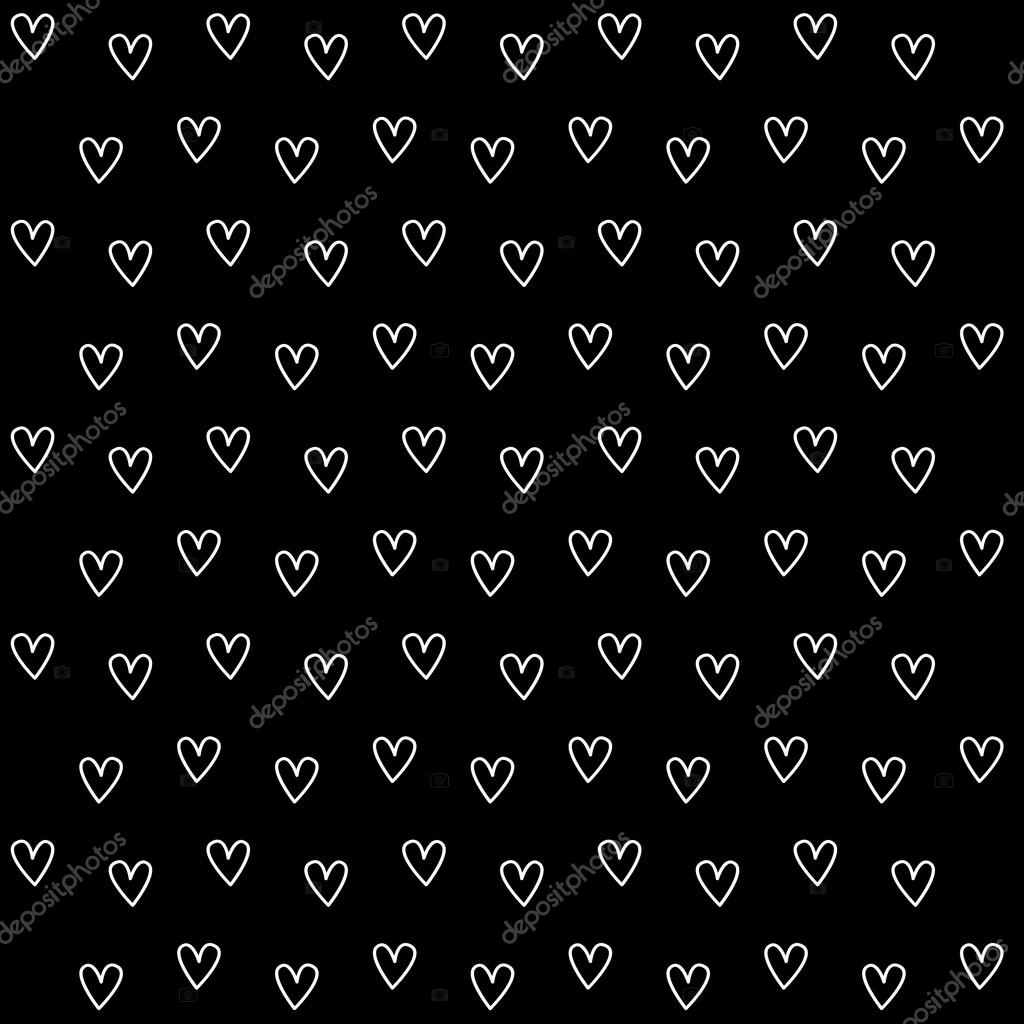 Black Wallpaper With Hearts Black Heart Wallpaper Great
