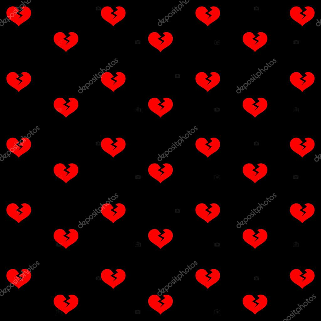 Broken Heart Background Set Great For Any Use Vector Eps10 Stock Vector C Shadowalice 84000594