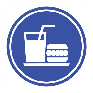 No Eat icon great for any use. Vector EPS10.