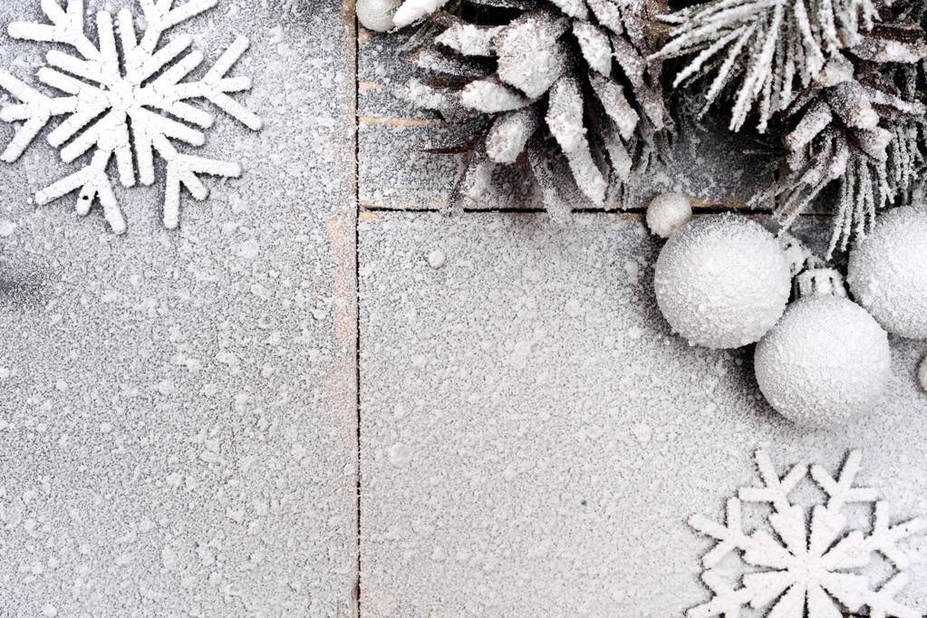 Fondo de Navidad en colores Pastel con un copo de nieve — Foto de ...