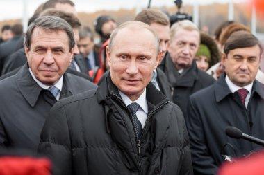 Moscow, Russia - November 24, 2015: Vladimir Putin