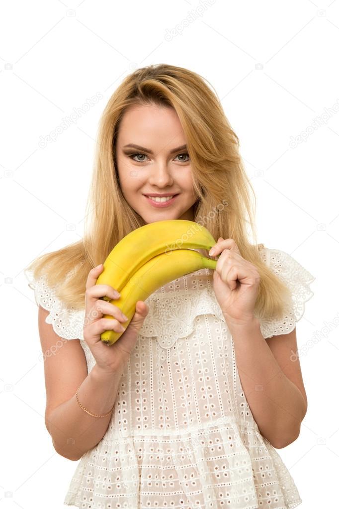 Красивые девушки с бананом — 9
