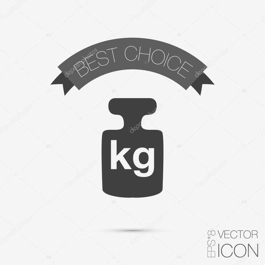 Weight icon,