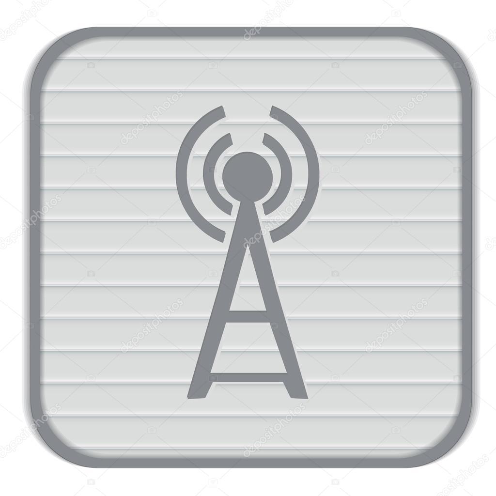 Wi-Fi-Turm-Symbol — Stockvektor © Little_cuckoo #69131097