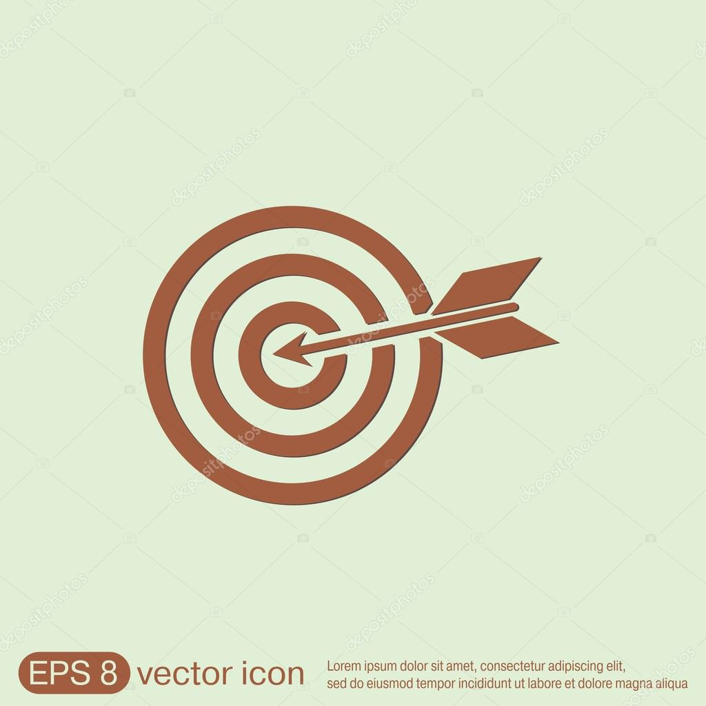 Target symbol hit the target stock vector littlecuckoo 74348259 target symbol hit the target stock vector buycottarizona Image collections