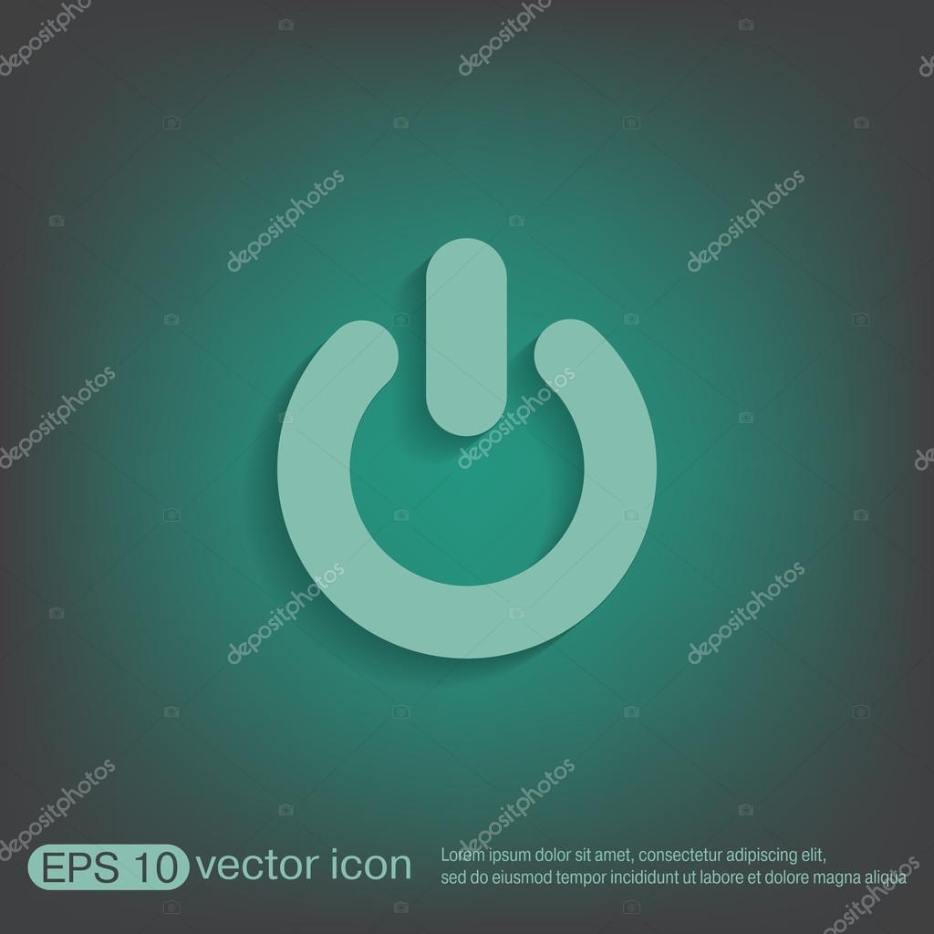 Macht Zeichen ein- und ausschalten — Stockvektor © Little_cuckoo ...