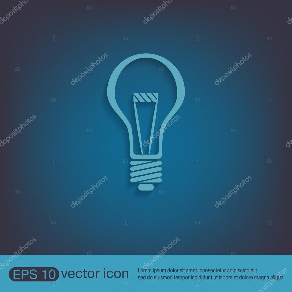 Symbol des elektrischen Lichts — Stockvektor © Little_cuckoo #78561378