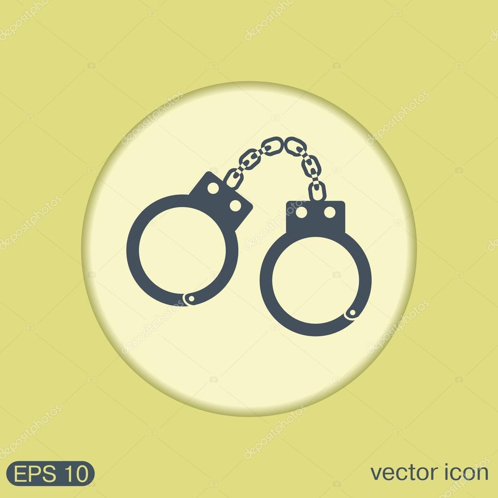 Handcuffs Symbol Of Justice Stock Vector Littlecuckoo 81473124
