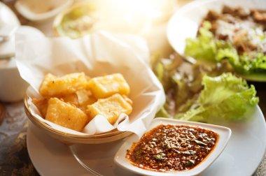 khao ram feun, tai yai food style