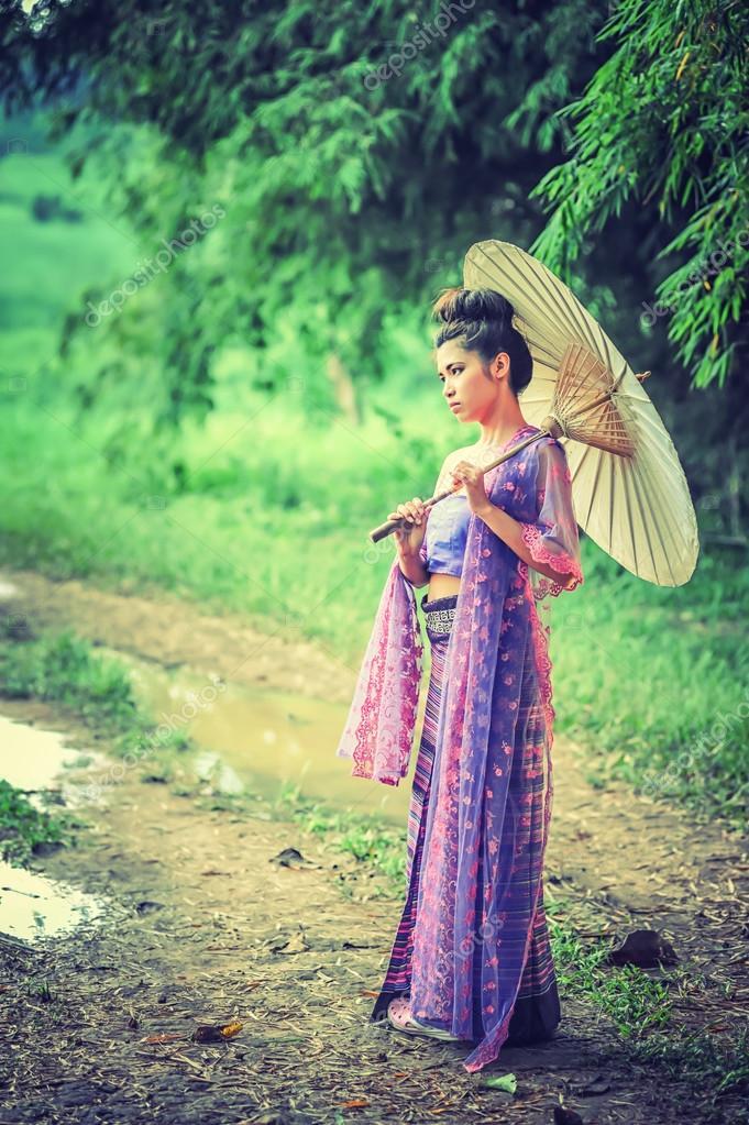 Wallpaperhdwide Traditionelle Kleidung Thailand Frauen