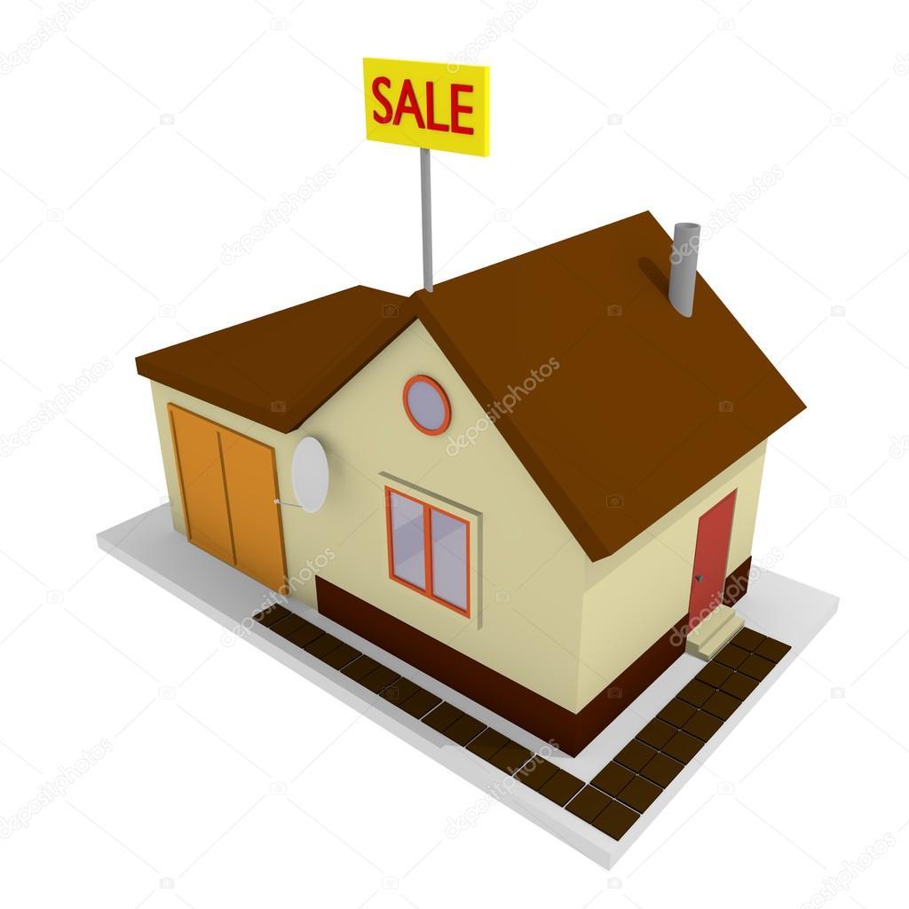 Top View Of House Model Stock Photo Lipkij 85784840