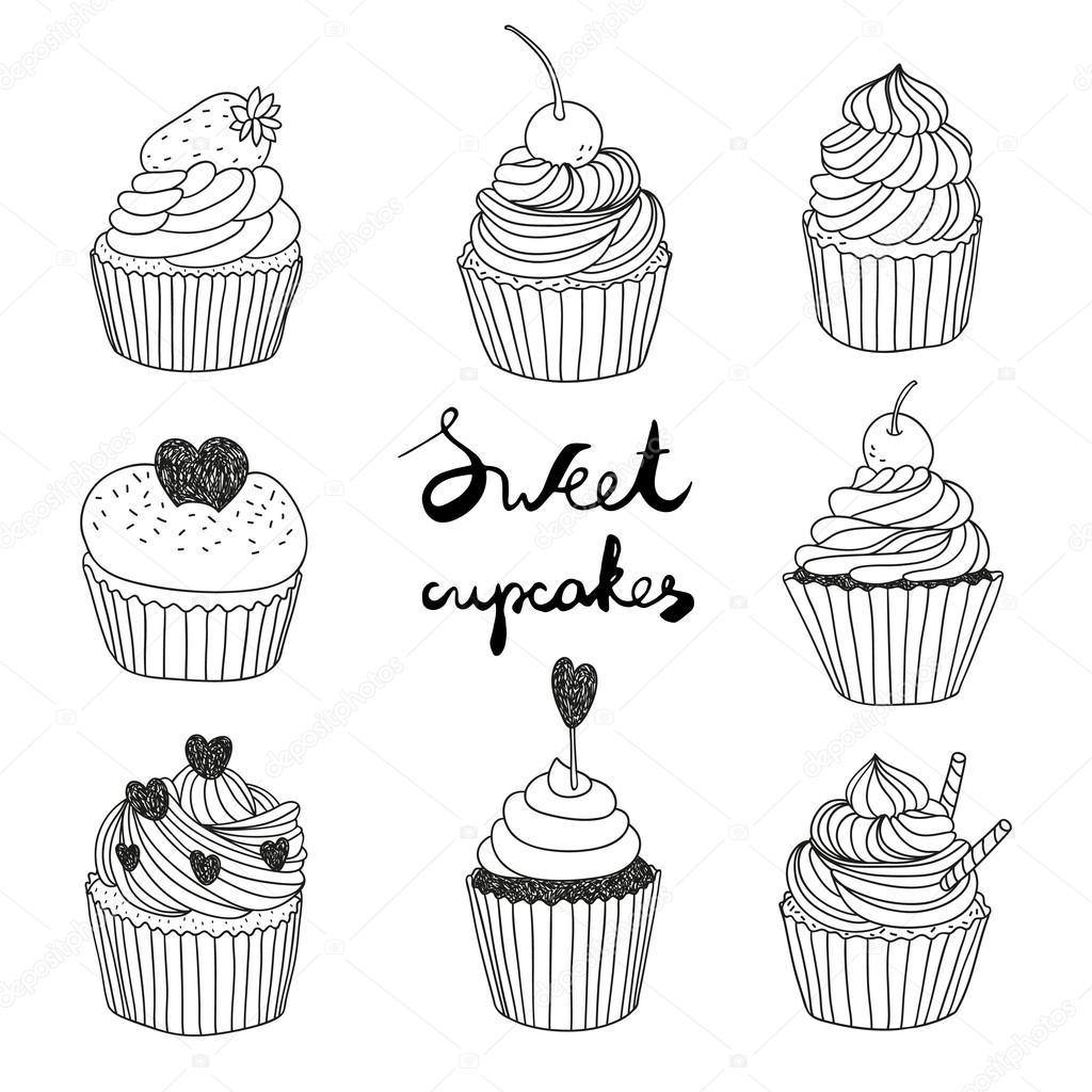 一番好き】 ケーキ イラスト 手書き , 壁紙、イラスト