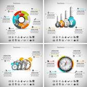 4 in 1  Infographics Bundle