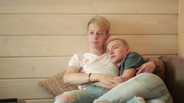 Home video gay couple sex