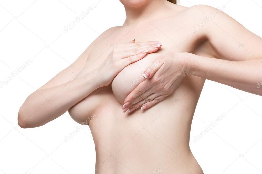 Nahaufnahmen von Brüsten