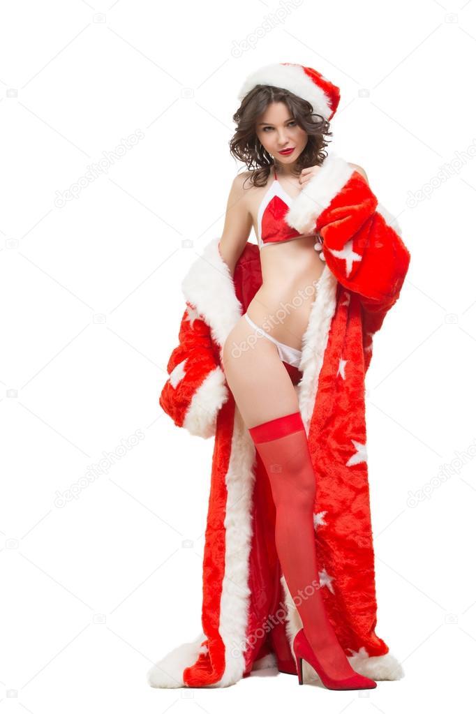 Сексуальный санта и снегурочка