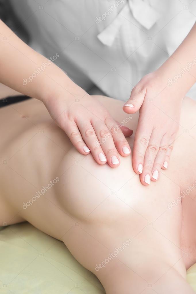 Чувственный массаж молодой дамы #9