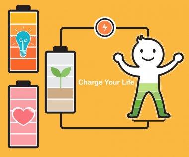 Idea Charging Battery