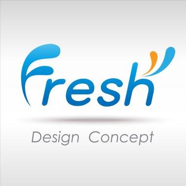Fresh icon stock vector