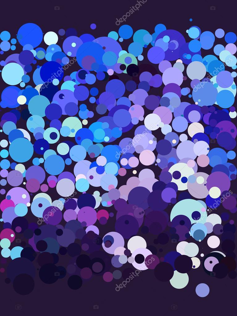 Wallpaper Abstracto De Burbuja Azul Y Morado Archivo Imágenes