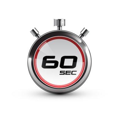 Timer icon 60 sec