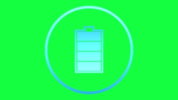 Batterie und Mail-Symbole