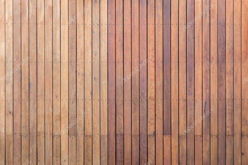 Buitenkant houten dek of op het terras van de bevloering