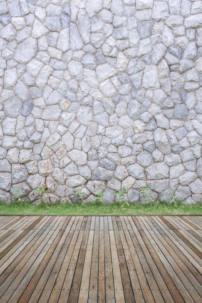 Pared de piedra decorativa exterior de casa con piso y - Piedra decorativa exterior ...