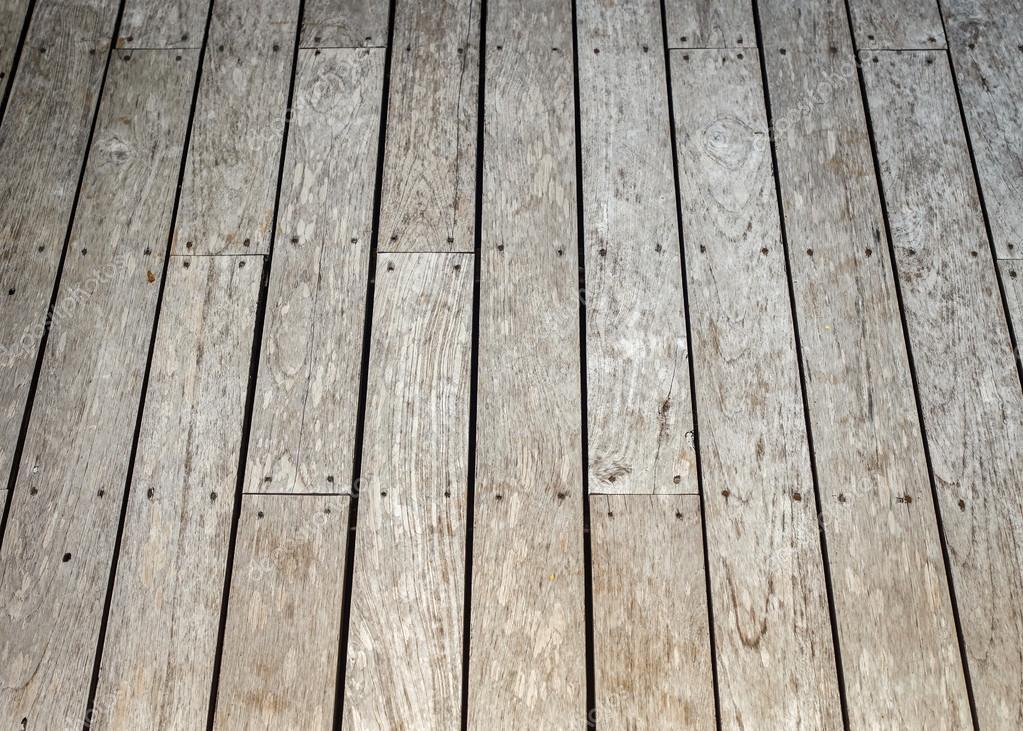 Texture de terrasse en bois pour le fond — Photographie PhanuwatNandee © #59441663