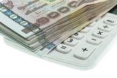 Thajské peníze bankovky