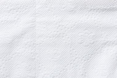 White tissue paper background texture