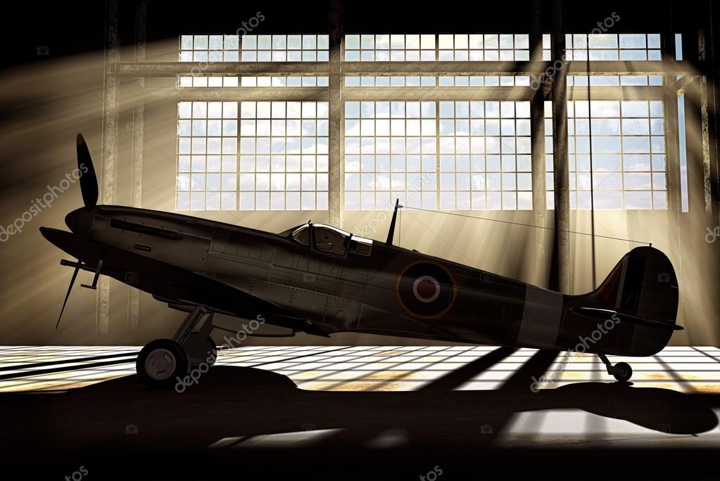 Supermarine Spitfire Mk.V - modelled in 3D