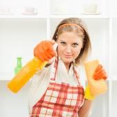 V domácnosti je připravena k čištění