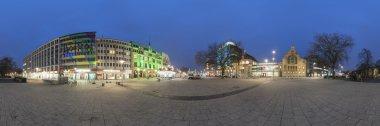 Hannover at evening. 360 degree panorama.
