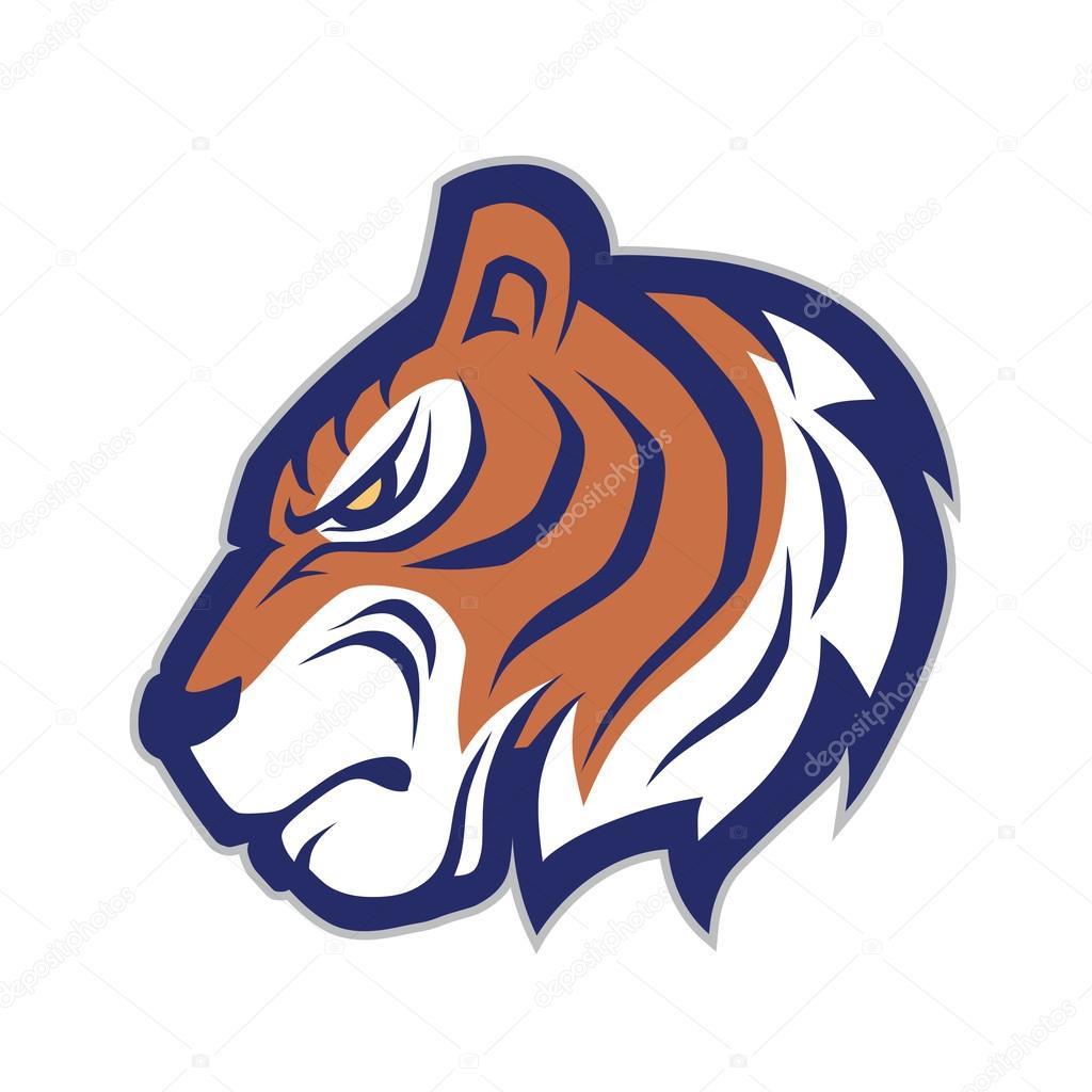 tiger head mascot � stock vector 169 sundatoon 107380124