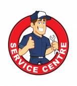 Fotografia Centro di servizio meccanico