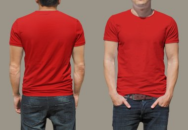 male t-shirt background