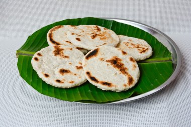Fresh Homemade Sri Lankan Pol Roti