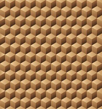 Wooden cubes seamless texture