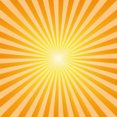Vintage abstract background explosion sun rays vector