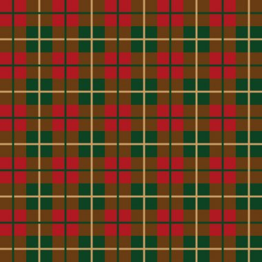 Scottish plaid pattern seamless vector
