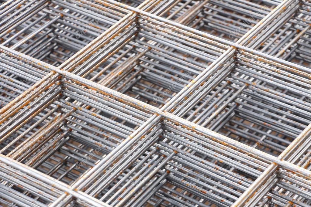 Stahl-bar Rahmen, auf der Baustelle — Stockfoto © aumkabaum #123353374